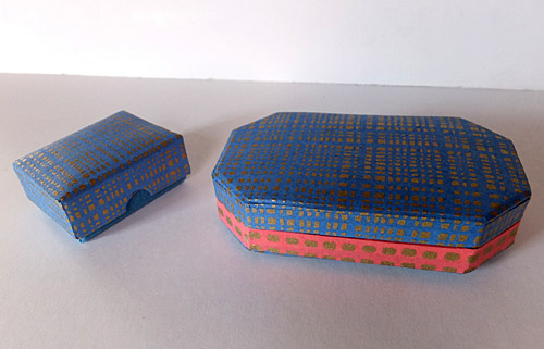 scatola in carta riso