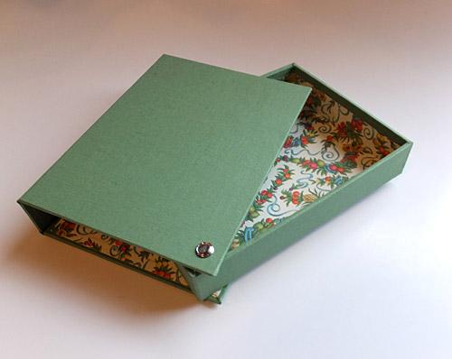 postcard case