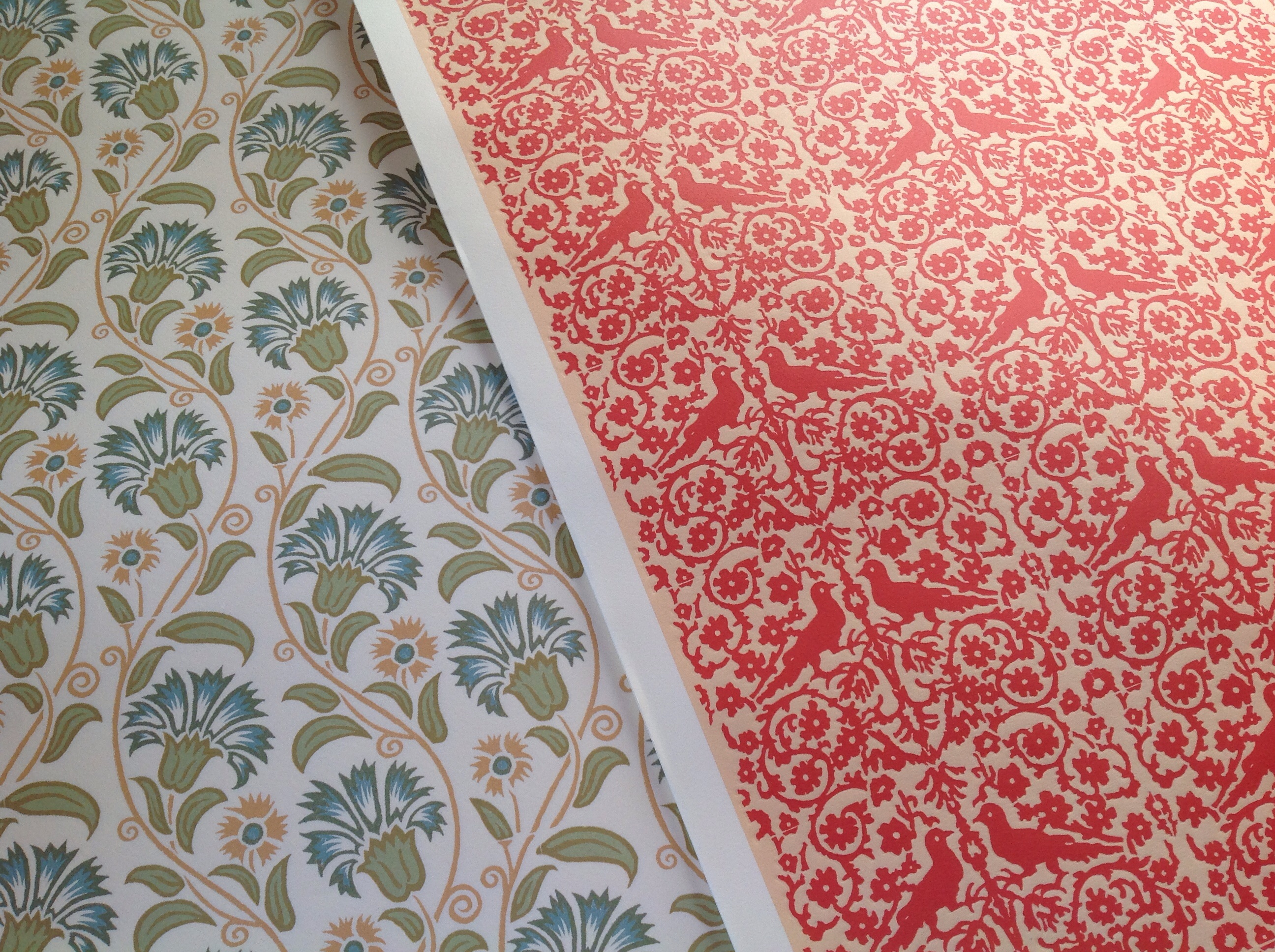 handprinted paper