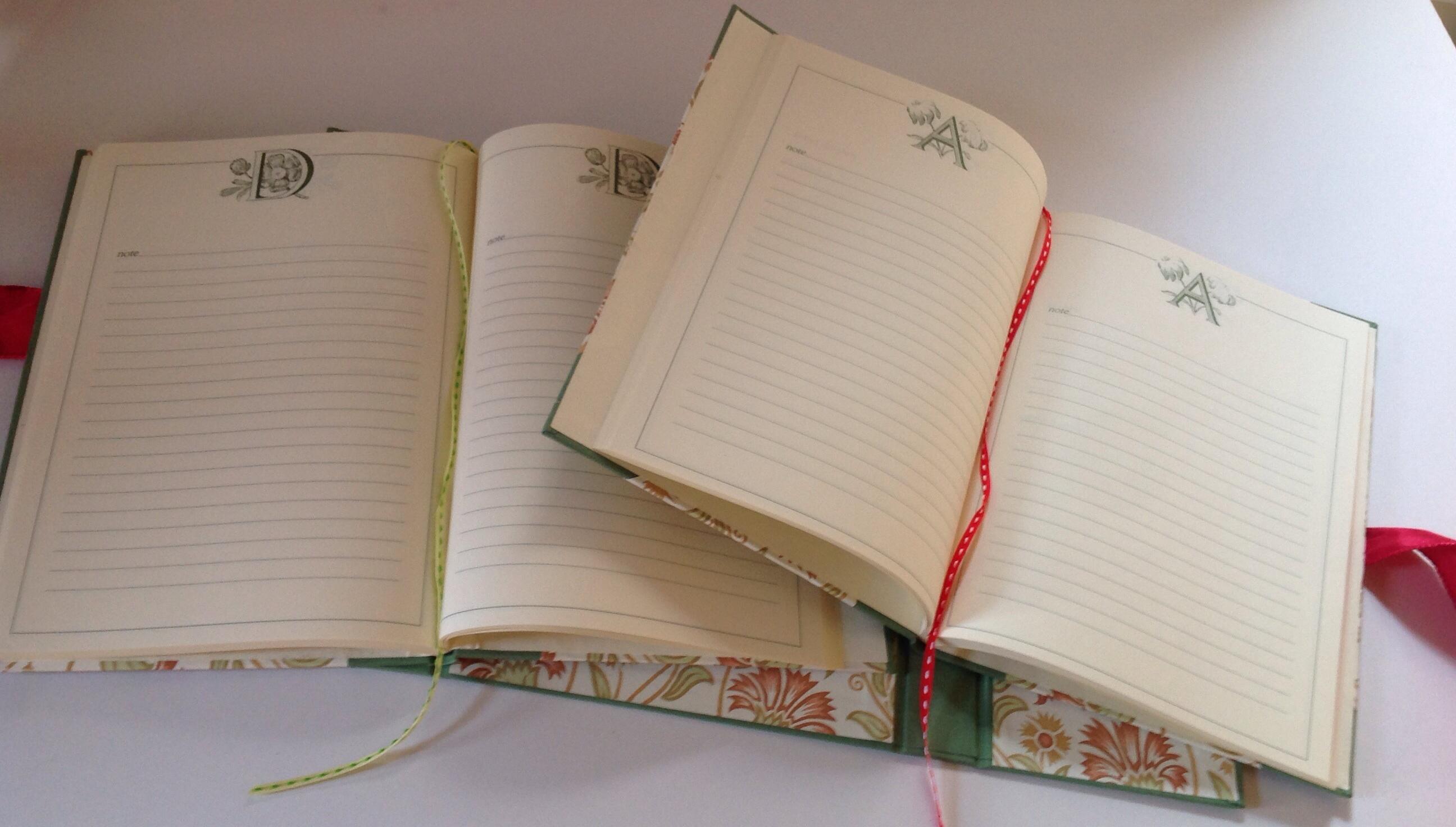 quaderno di giardino