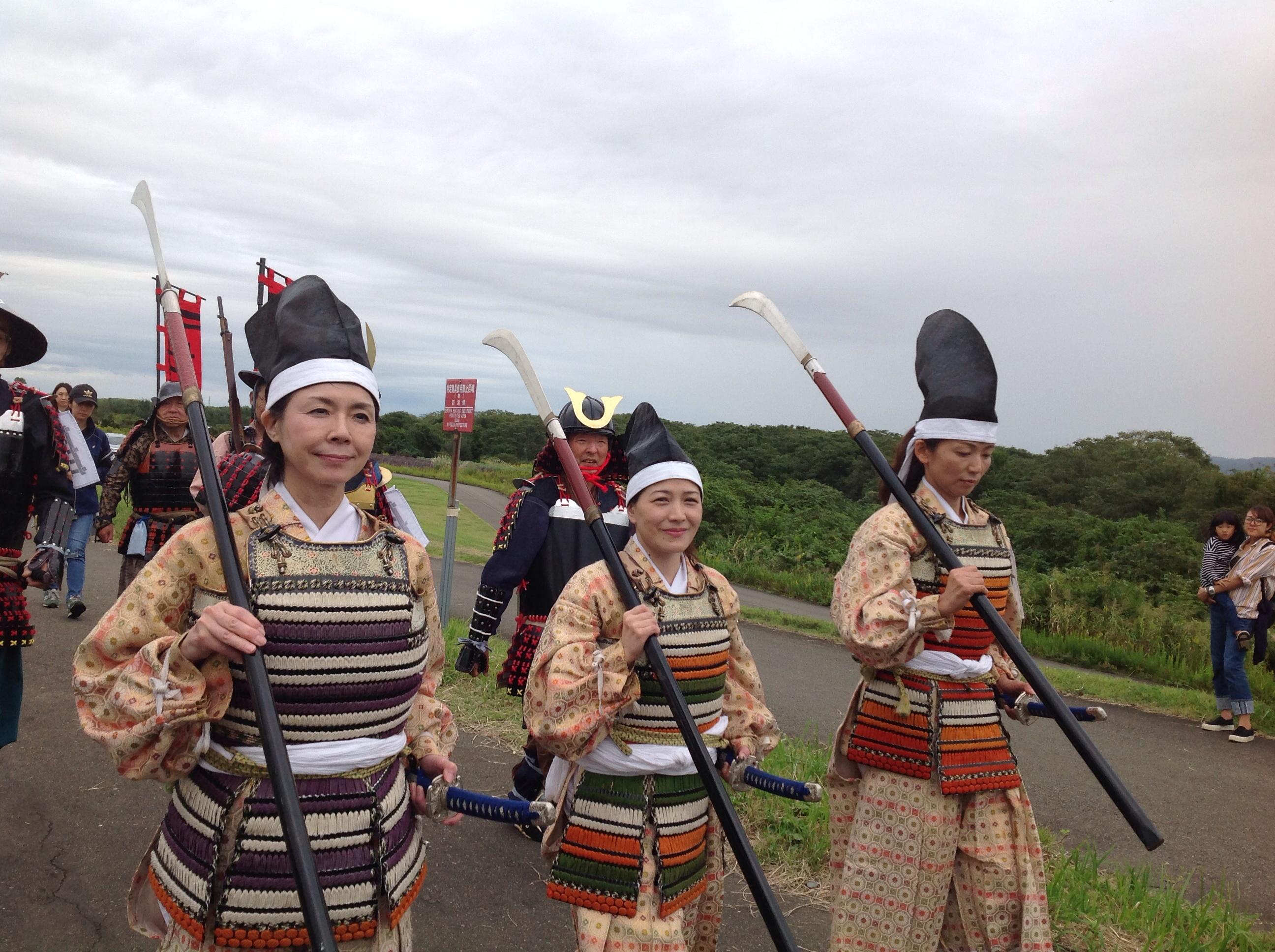 Donne  di samurai