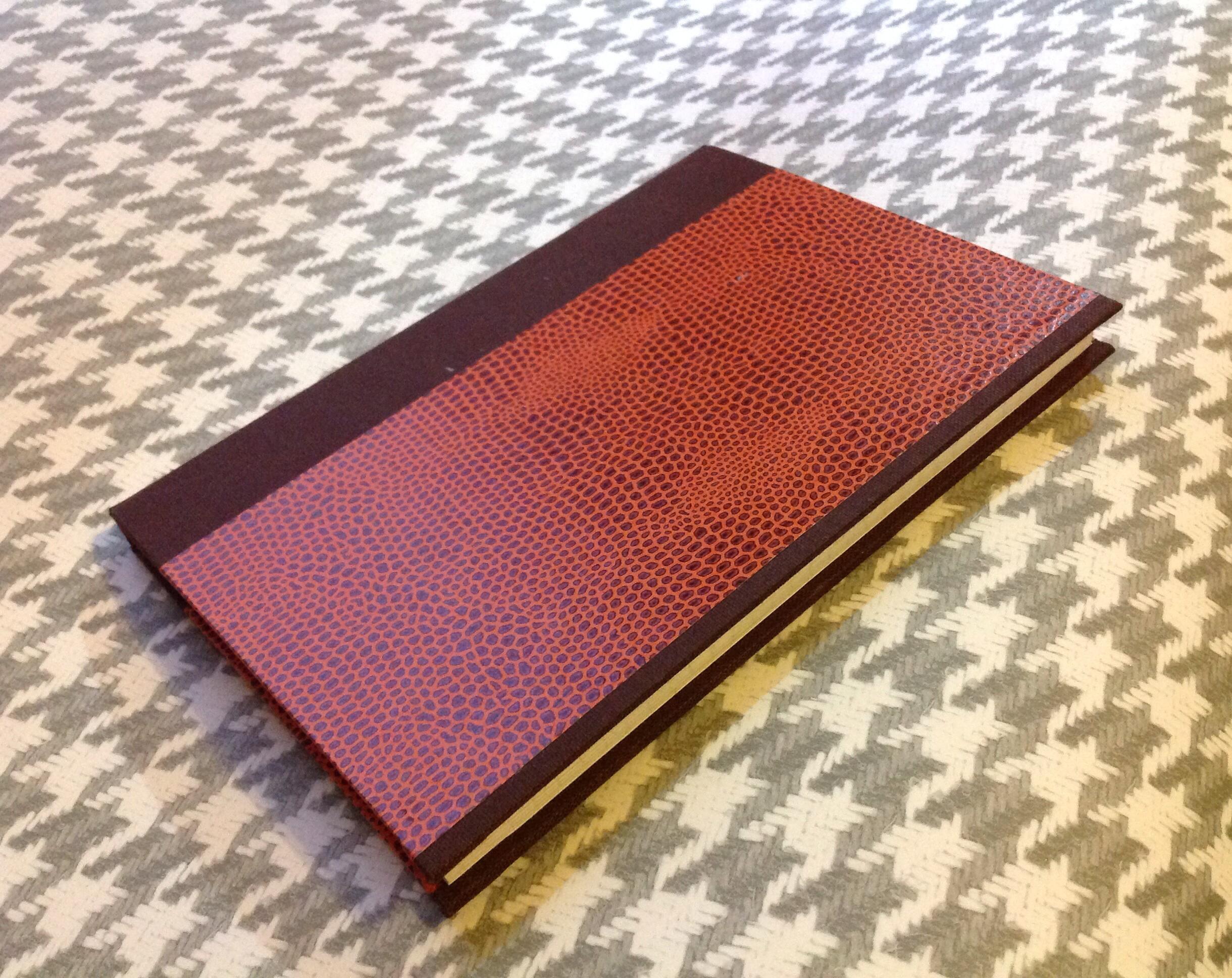 quaderno fatto a mano