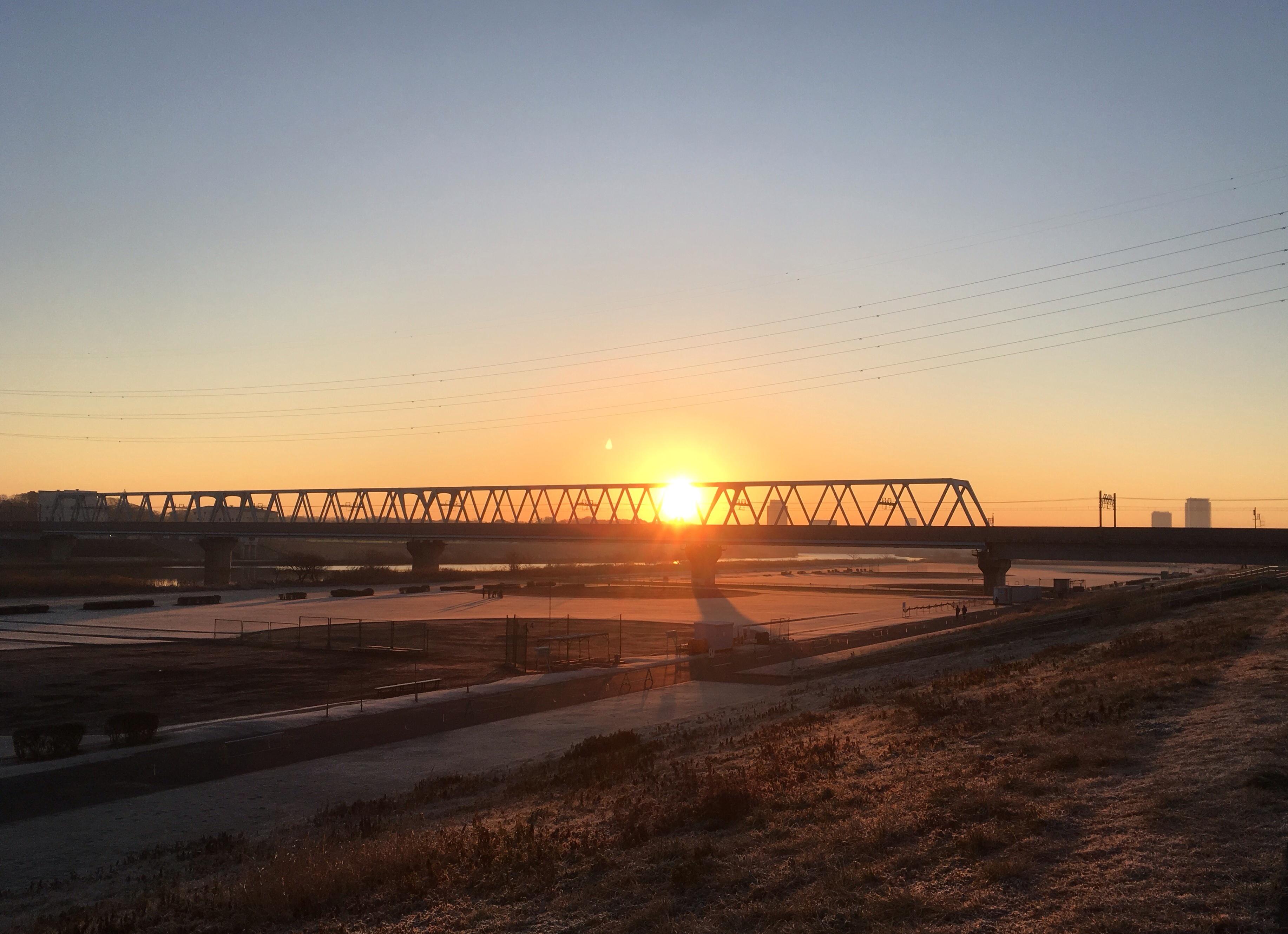 new year sun rise