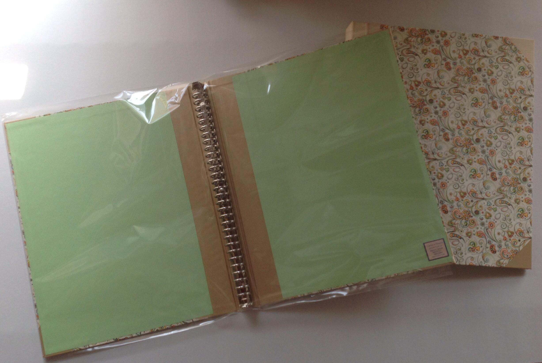 open the binder