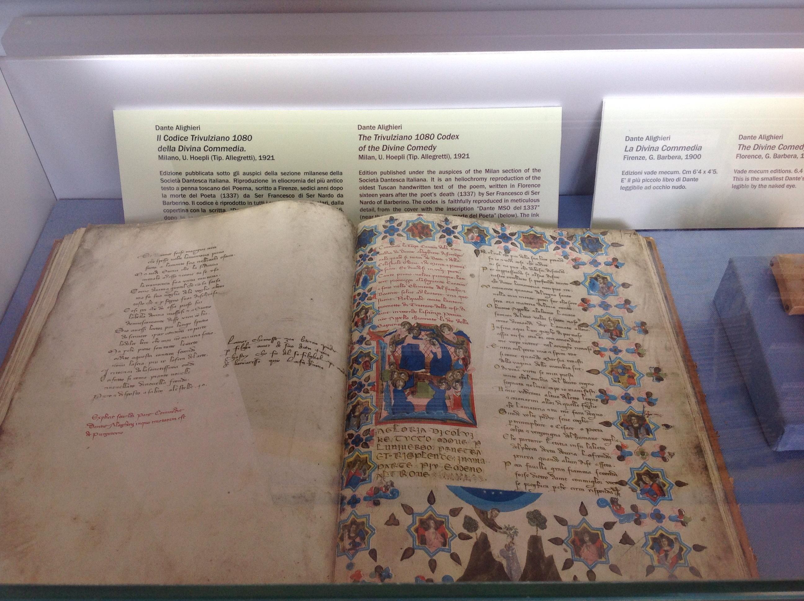 libro del Dante
