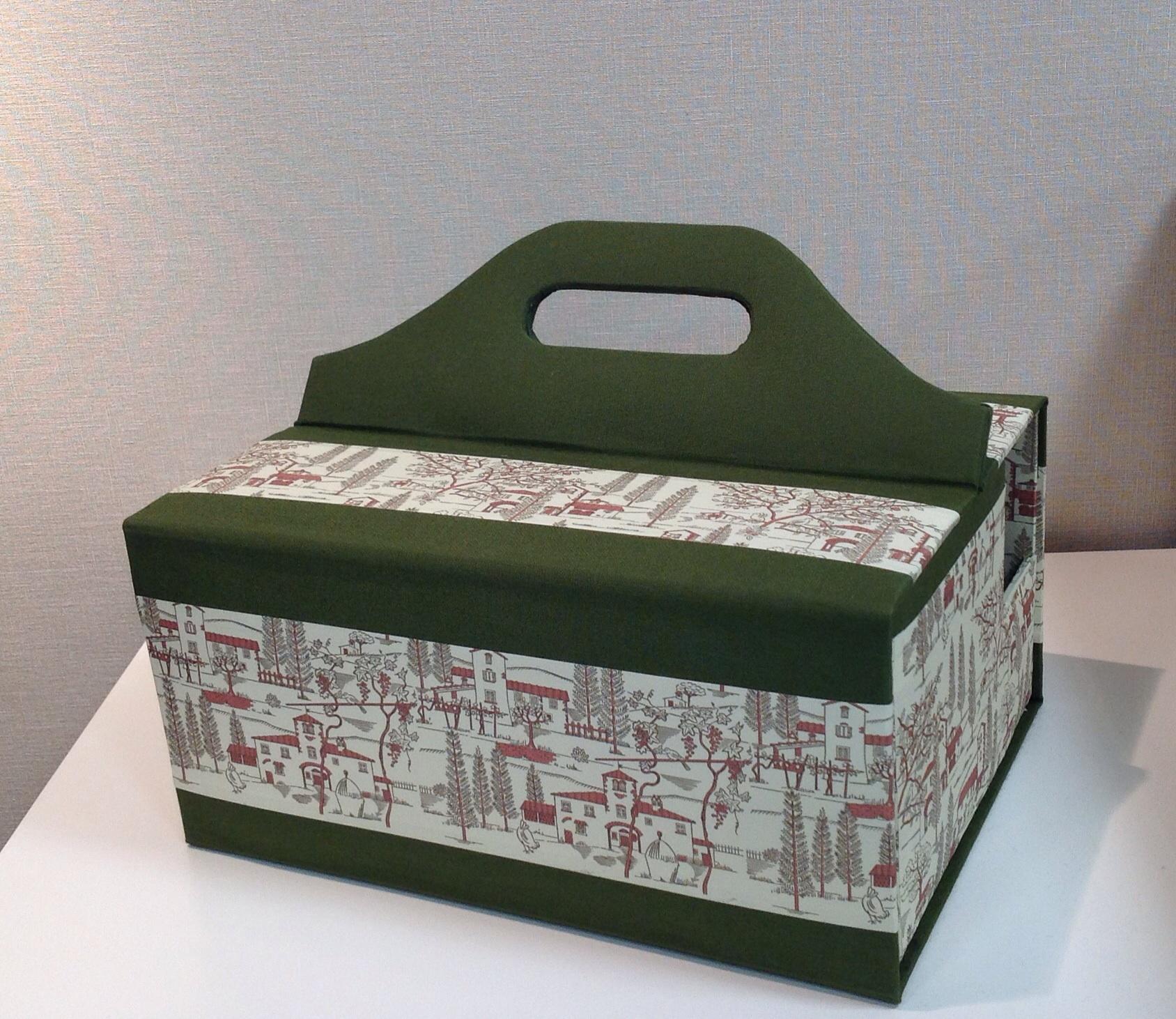 portable sewing box