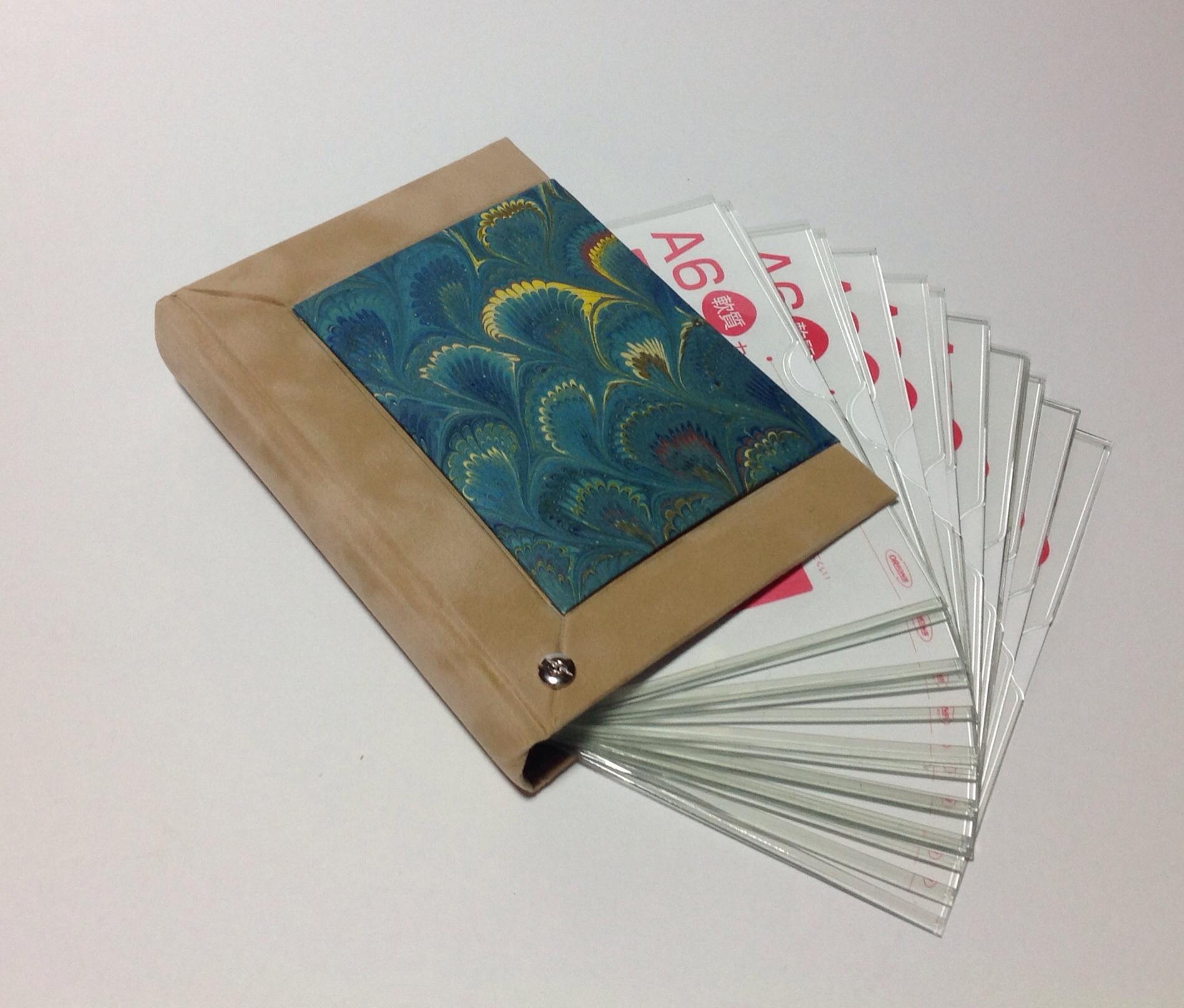 postcard file