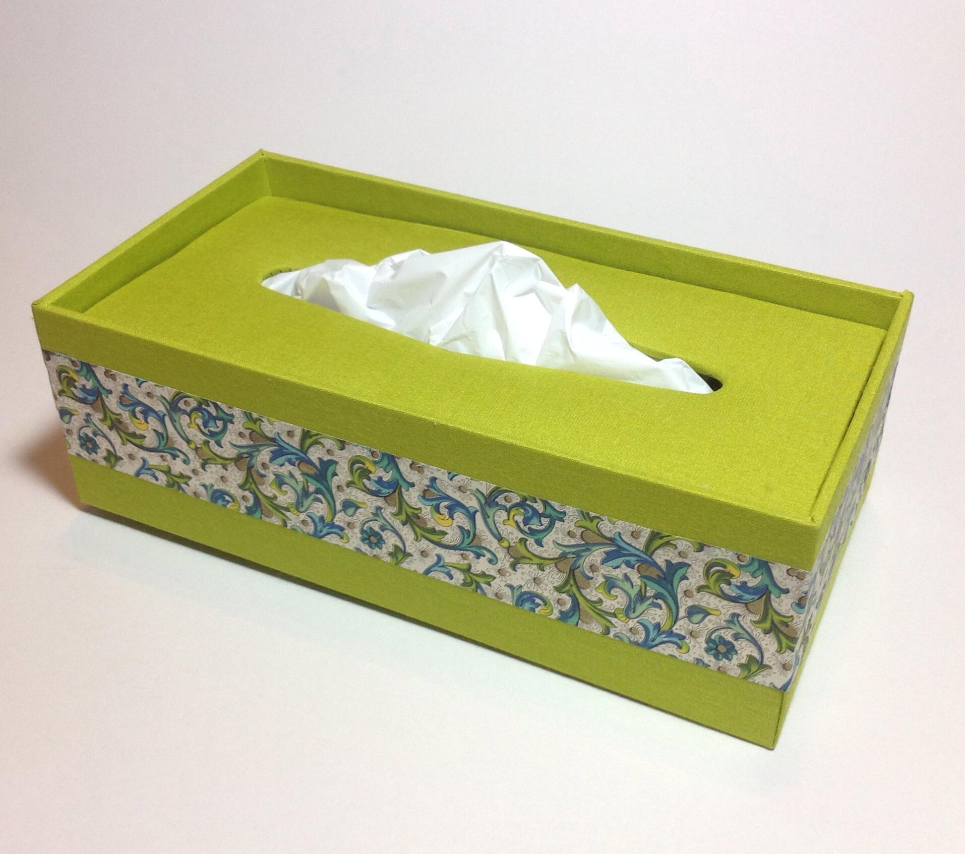 scatola per tissu